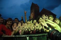 De ventilators van Apocalyptica Stock Afbeelding