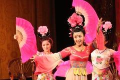 De Ventilators van de Opera van Sichuan Stock Foto
