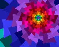 De Ventilators van de regenboog Royalty-vrije Illustratie