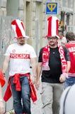 De ventilators van de voetbal Royalty-vrije Stock Fotografie