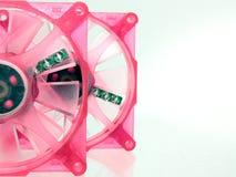 De Ventilators van het geval vrij in Roze Royalty-vrije Stock Foto
