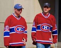 De ventilators van Montreal Canadezen Royalty-vrije Stock Afbeeldingen