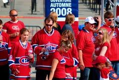 De ventilators van Montreal Canadezen Royalty-vrije Stock Foto
