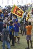 De ventilators van Sri Lanka bij de Kop van de Wereld van de Veenmol 2011 Stock Afbeeldingen