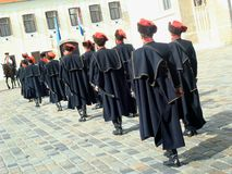 De verandering van de het regimentswacht van Kravat Royalty-vrije Stock Afbeelding