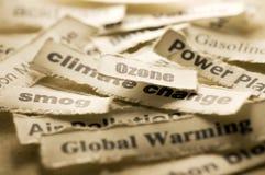 De Verandering van het klimaat stock afbeelding