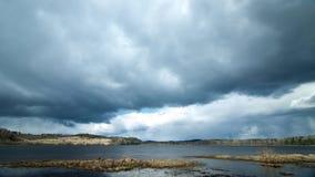 De veranderingen van het de lenteweer, timelapse stock footage