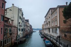 De verbazende stad van Venetië royalty-vrije stock afbeeldingen