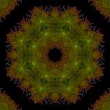 De verbeeldingscultuur van de Mandala grafische symmetrie om ornament, oosters behang helder mozaïek, vector illustratie