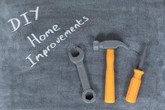 De Verbeteringen van het DIY en van het Huis concept royalty-vrije stock afbeelding