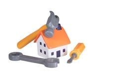 De Verbeteringen van het DIY en van het Huis concept stock foto