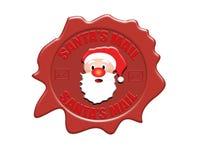 De verbinding van de de postwas van de kerstman Royalty-vrije Stock Foto's