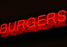 De Verbinding van de hamburger Stock Fotografie
