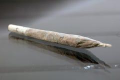 De verbinding van de marihuana Stock Afbeeldingen