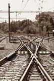De verbinding van de spoorweg royalty-vrije stock afbeelding