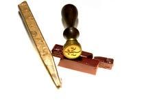 De Verbinding van de Zegel van de was Royalty-vrije Stock Afbeelding