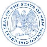 De Verbinding van de Staat van New Mexico stock illustratie