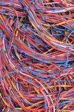 De verbindingen van het computernetwerk Stock Foto's