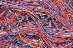 De verbindingen van het computernetwerk Stock Foto