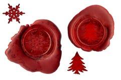De verbindingen van Kerstmis Stock Fotografie