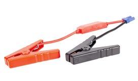 De verbindingsdraadkabel van de autobatterij voor lader of spanningsverhoger royalty-vrije stock fotografie