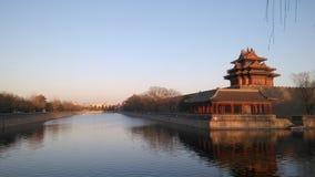 De verboden Stad Peking stock foto