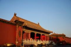 De verboden stad in Peking, China Royalty-vrije Stock Afbeelding