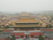 De Verboden Stad van China Stock Fotografie