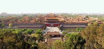 De Verboden Stad van Peking Royalty-vrije Stock Afbeelding