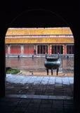 De verboden Tint van de stad, Vietnam stock foto's