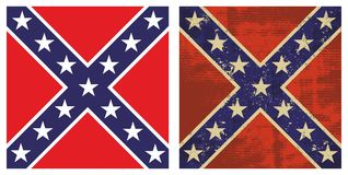 De verbonden Vlag van de Slag Royalty-vrije Stock Afbeelding