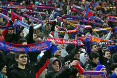 De Media van FC Steaua Boekarest FC Gaz Metan Royalty-vrije Stock Fotografie