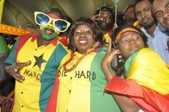 De verdedigers van Ghana Stock Afbeelding