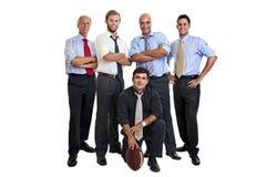 De verdedigers van het rugby Royalty-vrije Stock Afbeelding