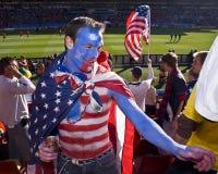 De Verdedigers van het Voetbal van de V.S. - WC 2010 van FIFA Royalty-vrije Stock Afbeeldingen