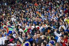 De Verdedigers van het voetbal - WC 2010 van FIFA Royalty-vrije Stock Afbeeldingen