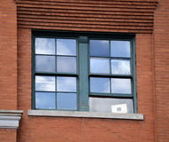 6de Verdieping Venster Stock Foto