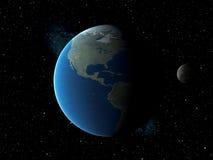 De verduistering van de maan vector illustratie