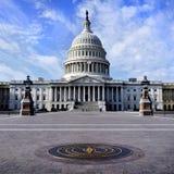 De verenigde Bouw van het Capitool van de Staat stock foto's