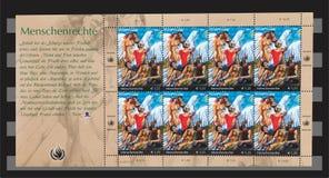De verenigde Natie stempelt Rechten van de mens 2004 Royalty-vrije Stock Fotografie