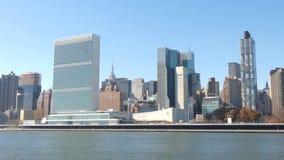De Verenigde Naties stock footage