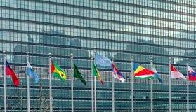 De Verenigde Naties Stock Afbeelding