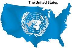 De Verenigde Naties stock illustratie