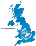 De Verenigde Naties royalty-vrije illustratie