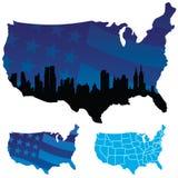 De Verenigde Staten van Amerika Stock Foto