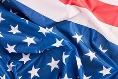 De Verenigde Staten van Amerika markeren dicht omhoog stock fotografie