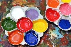 De verf van de kleur Stock Foto's