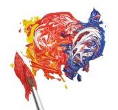 De Verf van de kleur Royalty-vrije Stock Foto's