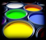De verf van de kleur Stock Fotografie