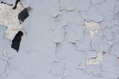 De verf van de muurschil of gebarsten Stock Foto's